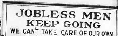 a great depression sign