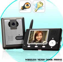 entry video camera wireless
