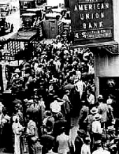 great depression banks fail